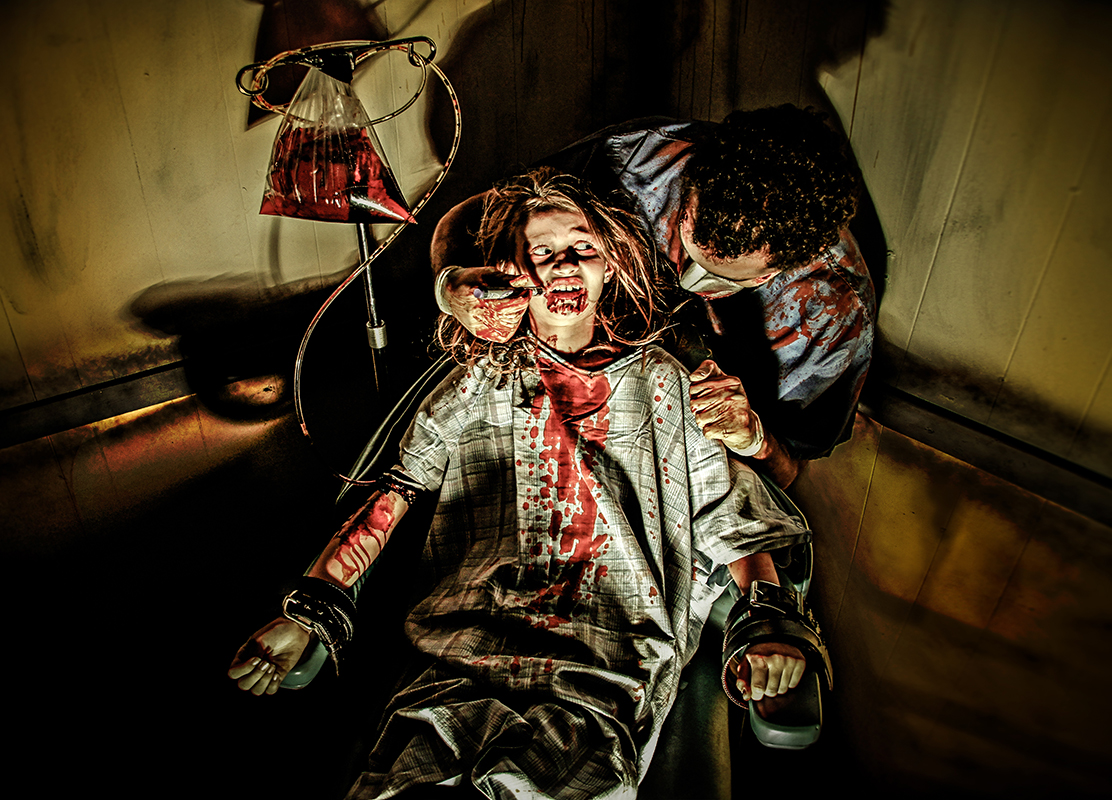 Haunted Attraction Photography