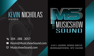 musicshow-sound-business-card